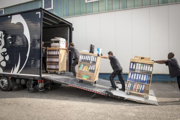 Bueroumzug Firmenumzug Büro Umzug München
